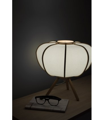 Lámpara de sobremesa de bambú natural BEPA N02