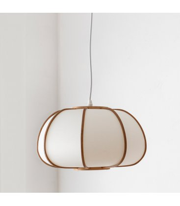 Lámpara de techo de bambú natural BEPA N03