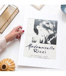 """Lámina vintage """"Mademoiselle Ricci"""""""