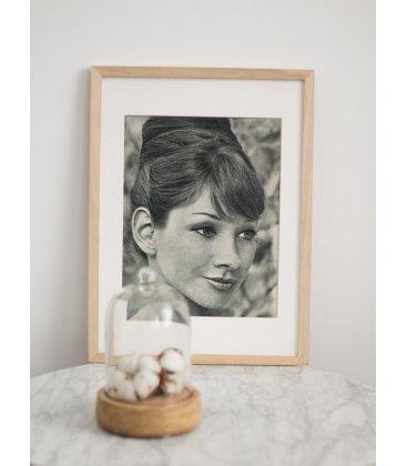 """Lámina vintage """"Audrey"""""""