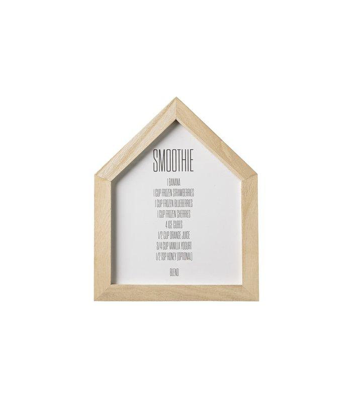 marco con forma de casa