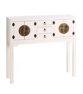 Consola blanca de estilo asiático TIBET
