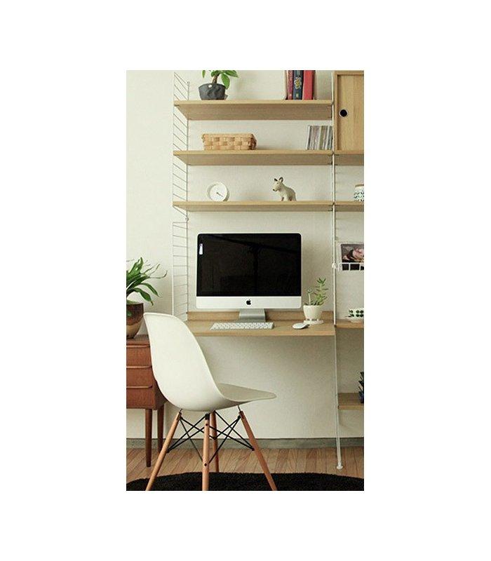 Estanter a string puesto de trabajo con estantes en blanco - Estanteria string ...