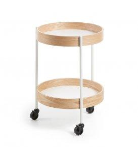 Mobiliario r de room - Mesa auxiliar con ruedas ...