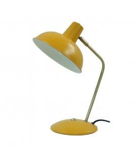 Lámpara de sobremesa estilo retro color amarillo mostaza FIFTY
