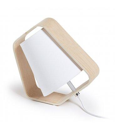 Lámpara de sobremesa pantalla blanca MARY