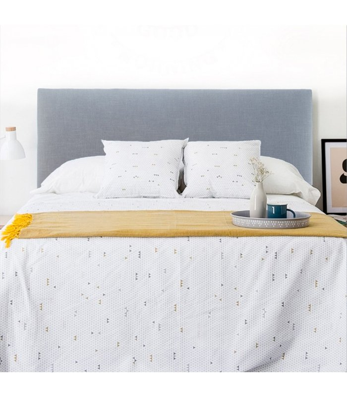 Cabecero tapizado en tela para colgar aries varios colores - Cabeceros tapizados tela ...