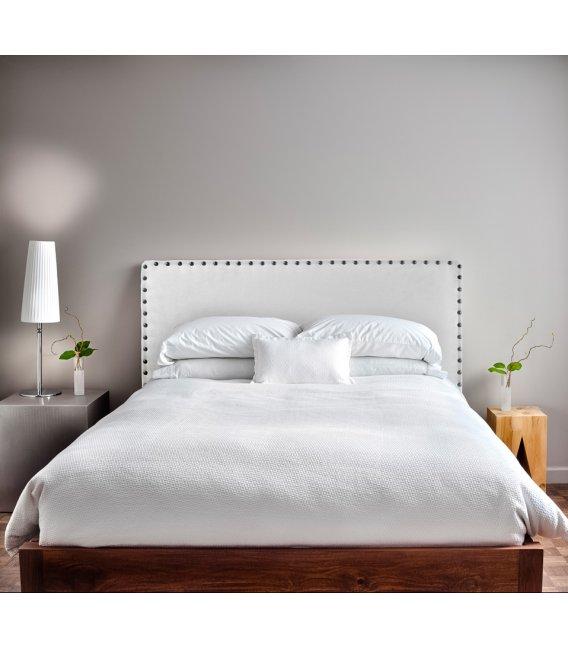 Cabecero tapizado en tela para colgar perseo varios colores - Cabeceros de cama tapizados de tela ...