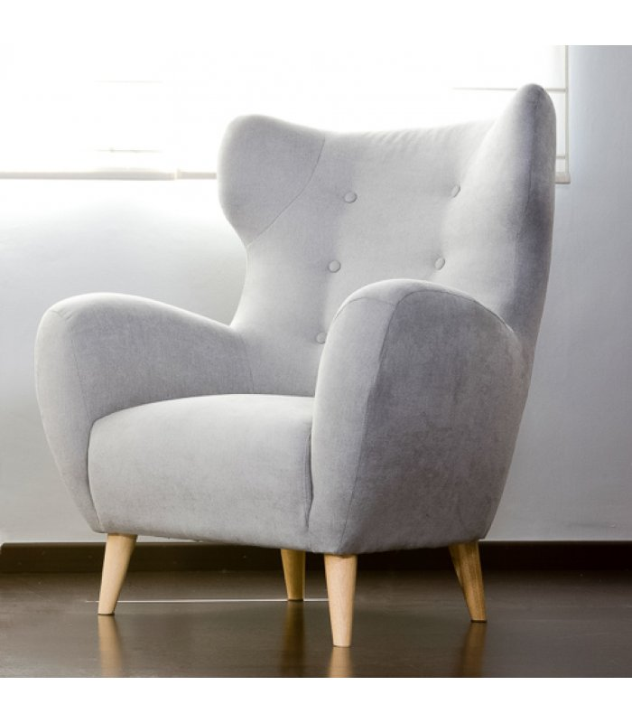 Como tapizar un sillon orejero excellent silln orejero giratorio lady tapizado en piel color - Tapizar sillon paso a paso ...
