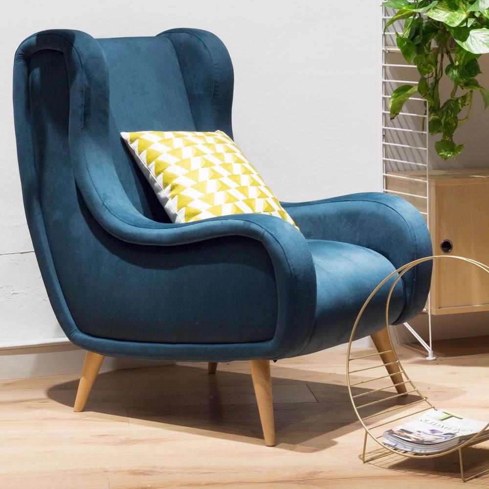 Como tapizar un sillon antiguo perfect silln de cerezo - Sillon orejero ingles ...