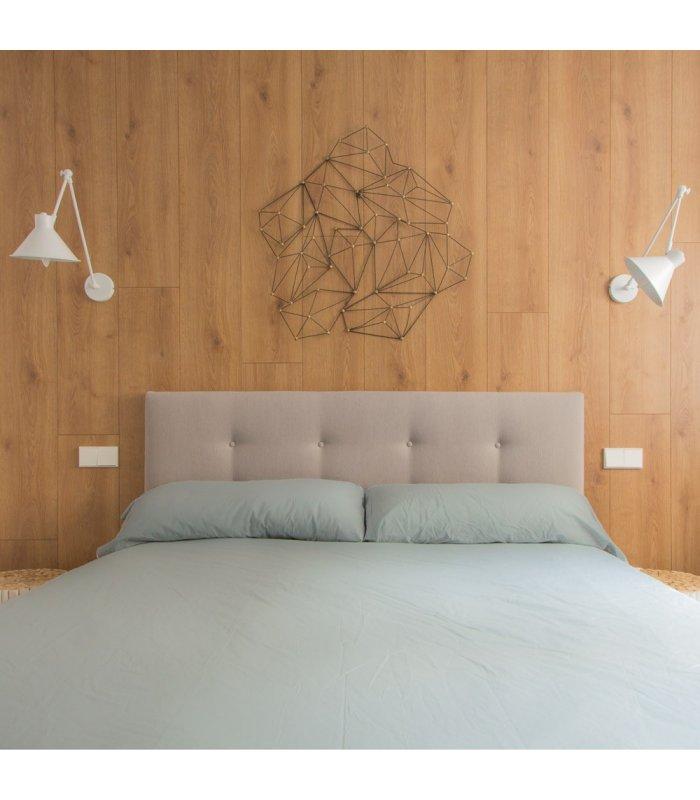Cabeceros tapizados tela fabulous cabecero de cama - Cabeceros cama tela ...