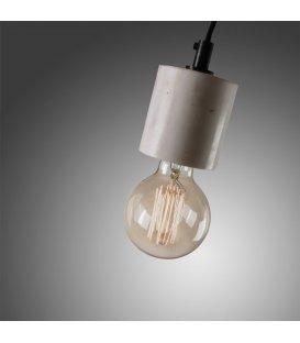 Lámpara de techo de mármol blanco cilíndrico
