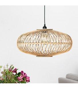 Lámpara de techo de bambú circular bambú
