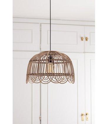 Lámpara de techo de bambú festoneada FUJI
