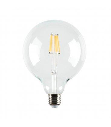 Bombilla retro globo tipo Edison LED 12,5cm diámetro