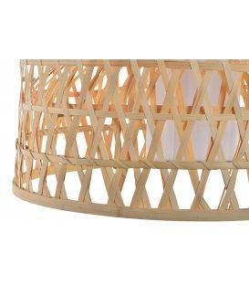 Lámpara de techo circular de bambú KIKAI diámetro 52cm
