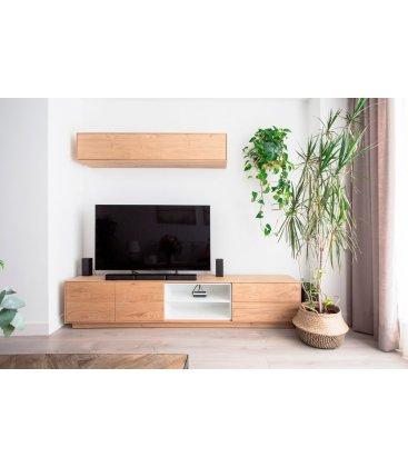 Mueble TV con zócalo NORWAY 232cm