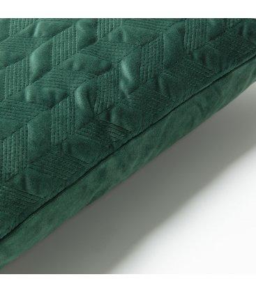Funda de cojín cuadrado de terciopelo verde GREEN 45x45cm