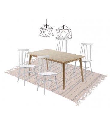 R-DISEÑO-SHOP-collage-mesa-WIN-sillas-WINDSOR--lampara-LEO-alfombra-HOME