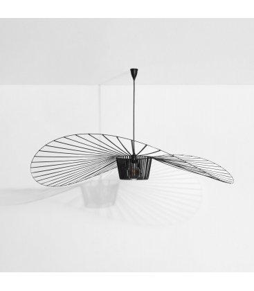 Lámpara de techo VÉRTIGO negra (2 tamaños)