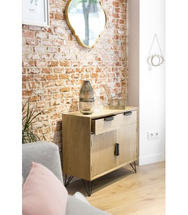 Aparador buffet de madera con puertas y cajones COPENHAGEN