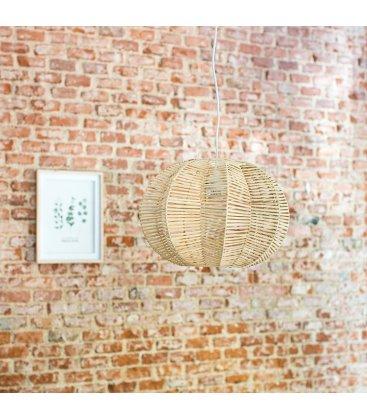 Lámpara de techo de ratán trenzado FOREST