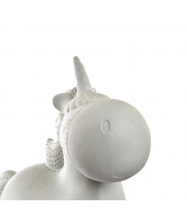 Lámpara quitamiedos de porcelana con forma de unicornio PONY