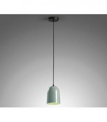 Lámpara de techo suspendida MINTY de metal lacada en color mint