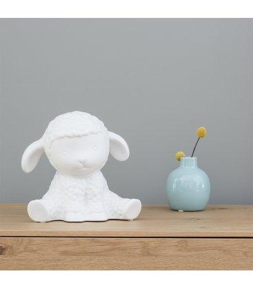 Lámpara quitamiedos de porcelana con forma de oveja DOLLY