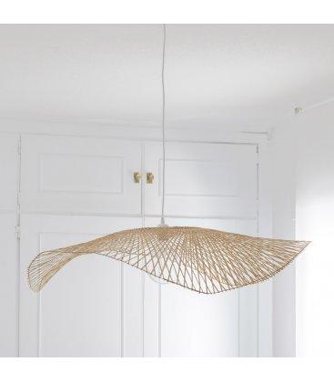Pantalla lámpara de bambú trenzado FLYGA