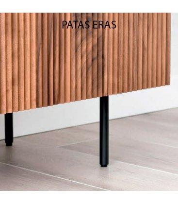 Mueble TV con zócalo o patas NORWAY REVET con puertas (varios tamaños y acabados)