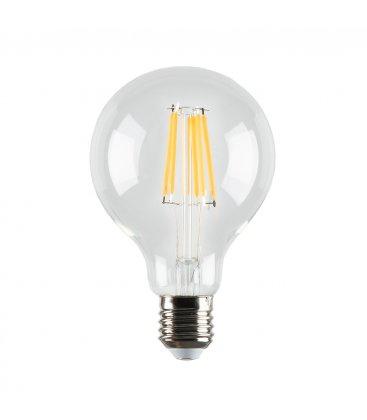 Bombilla retro globo tipo Edison LED 9,5 cm diámetro
