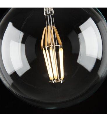 Bombilla retro globo tipo Edison LED 13,5cm diámetro