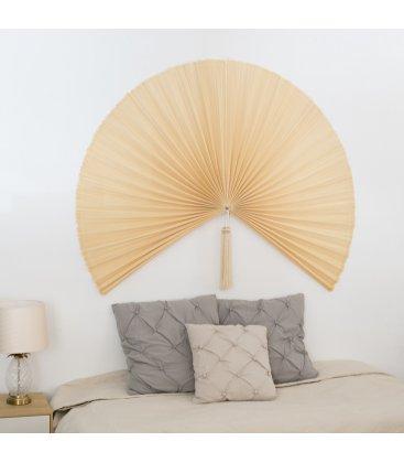 Abanico de pared de bambú color natural SENSU