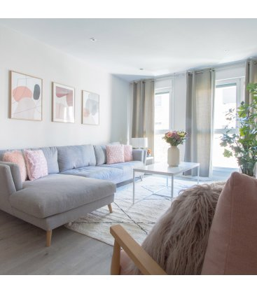 Sofá desenfundable con chaise longue NOVA (varias dimensiones y tapizados)