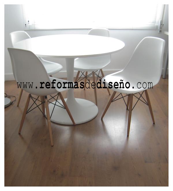 Reformas de Diseño Eames Plastic Chair DSW comprar silla barata 70 euros