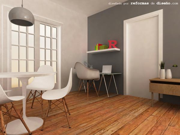 Interiorismo low cost servicio on line planos de - Interiorismo low cost ...