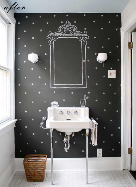 reformas de diseño interiorismo decoración madrid barato low cost decorar pared pizarra interioristas decoradores