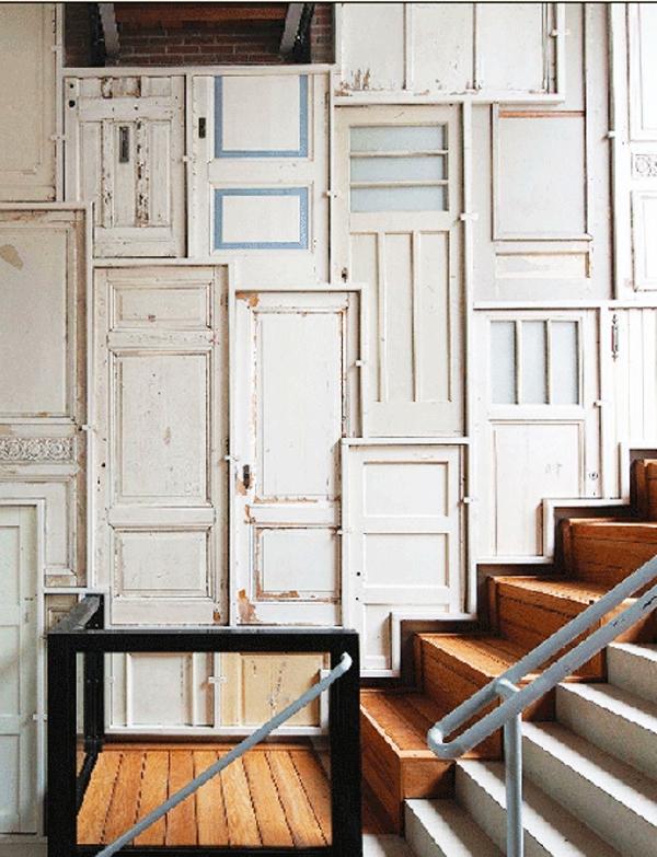 Decorar con puertas antiguas R de Room Interiorismo y Decoracin