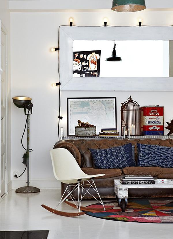 Mueble del d a el sof chester r de room interiorismo y - Mueble nordico madrid ...