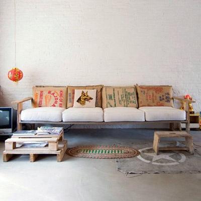 REFORMAS DE DISEÑO DECORACIÓN INTERIORISMO mesa auxiliar palet tablones madera diy handmade