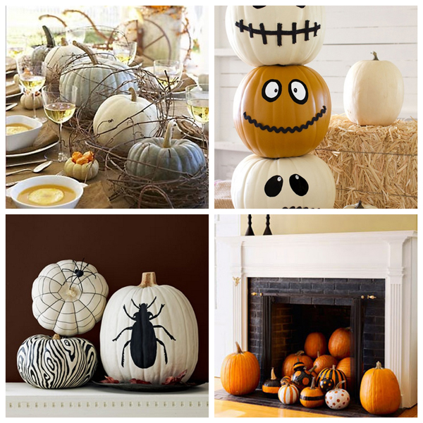 Ideas f ciles y originales para decorar la casa en for Decorar calabazas secas
