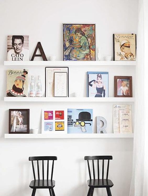 Mueble del d a estante ribba de ikea r de room interiorismo y decoraci n madrid tienda - Cuadros para cocina ikea ...