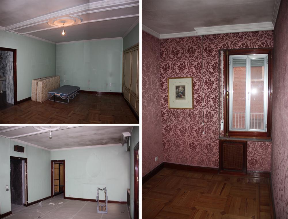 Ejemplo de proyecto de reforma integral en el barrio de salamanca parte v dormitorio principal - Reforma piso antiguo antes despues ...