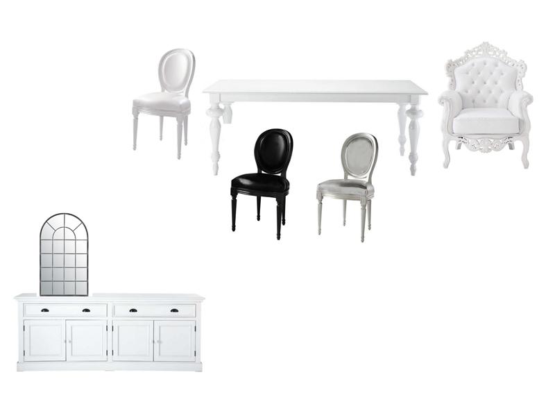 REFORMAS DE DISEÑO collage muebles comedor