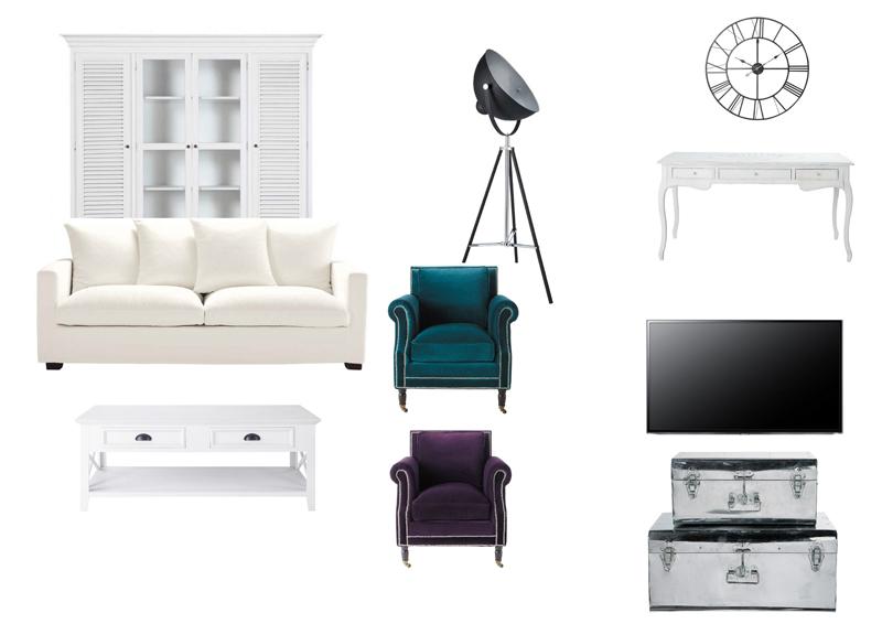 REFORMAS DE DISEÑO collage muebles estar 1