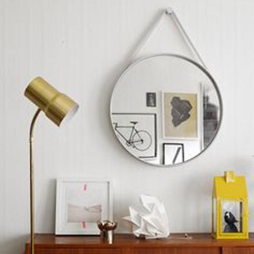 decorar con espejos circulares