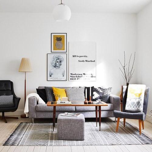 R DE ROOM BLOG copia el estilo: salón de estilo nórdico