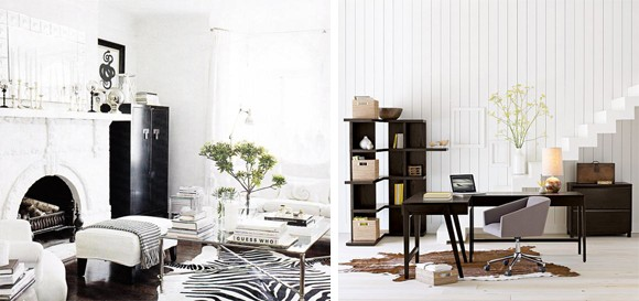 Trucos e ideas para decorar con una alfombra animal print - Decoracion e interiorismo madrid ...