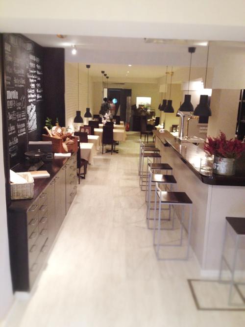 Ejemplo de interiorismo en bares y restaurantes kilo en for Mobiliario rustico para bares